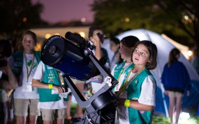 Our Place in Space: Space ScienceBadges for Younger Girl Scouts