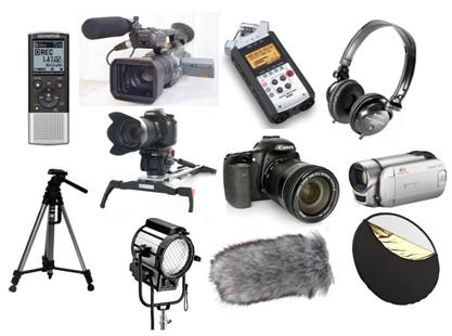 Essential filmmaking equipment involves a lot more than the usual suspects