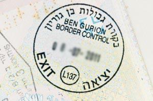 Entering Israel