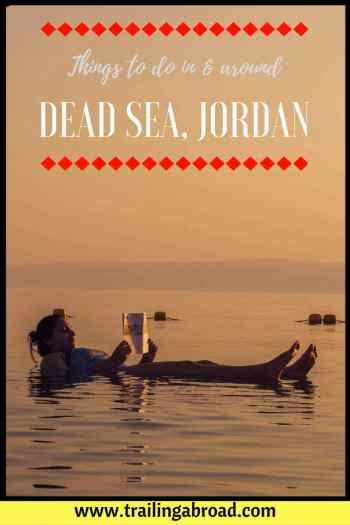 dead sea things to do