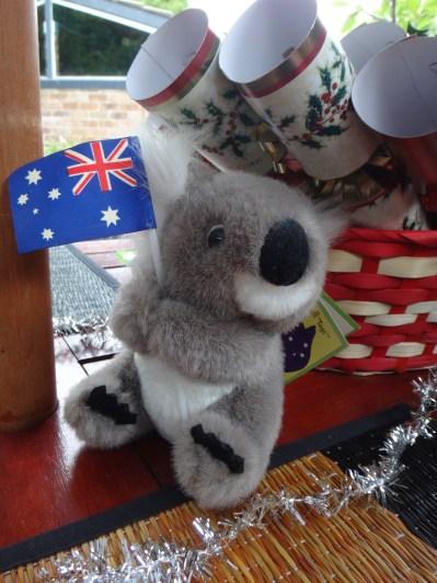 My Christmas koala