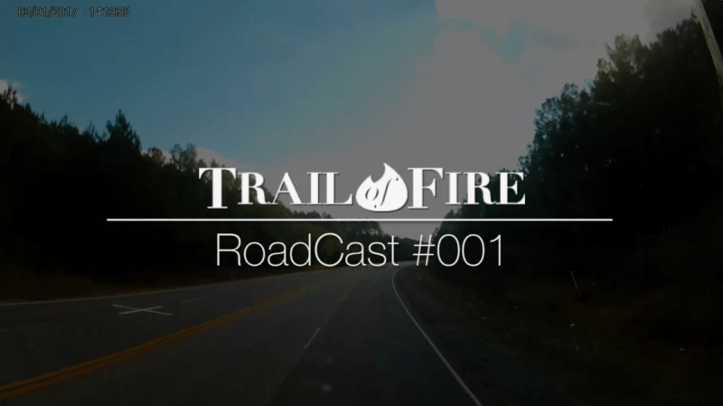 RoadCast 001 - From South Carolina to Alabama