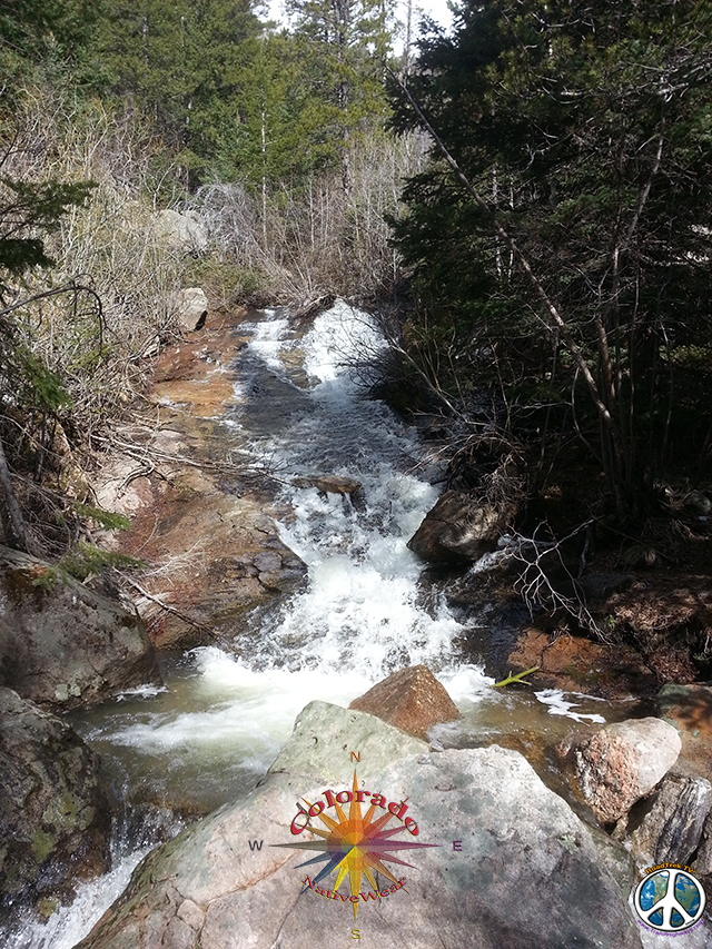 Down Stream of Bridal Veil Falls, Rocky Mountain National Park