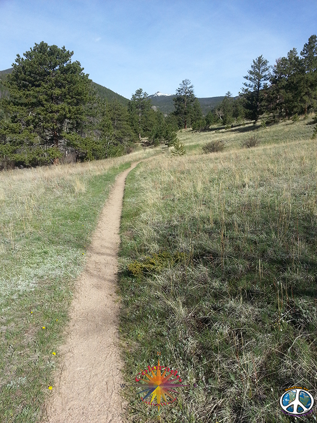 McGraw Ranch Rocky Mountain National Park, Cow Creek Trail,