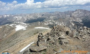 Mount Yale, Collegiate Peaks Wilderness, 14er, Colorado,