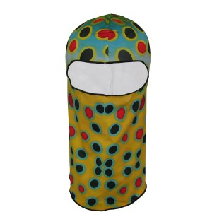 Brown Trout Fishing Mask, will protect from sun burn while on the river fly fishing,