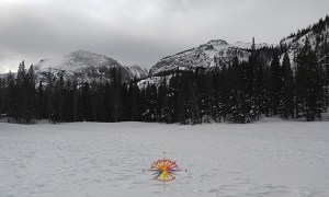 Emerald Lake hike in Rocky Mountain National Park, trailhead is located at Bear Lake.