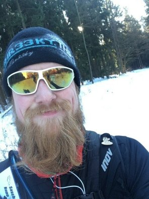 Bad hair day beim Taunus Ultra Trail