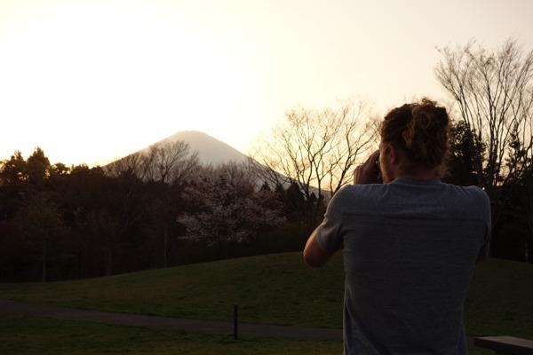 Shooting Mt Fuji