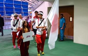 IAU 100k World Championships 2014 Japan Pre Ceremony