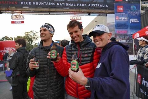 The North Face 100 Australia Dylan Bowman Francois D'Haene Scott Hawker