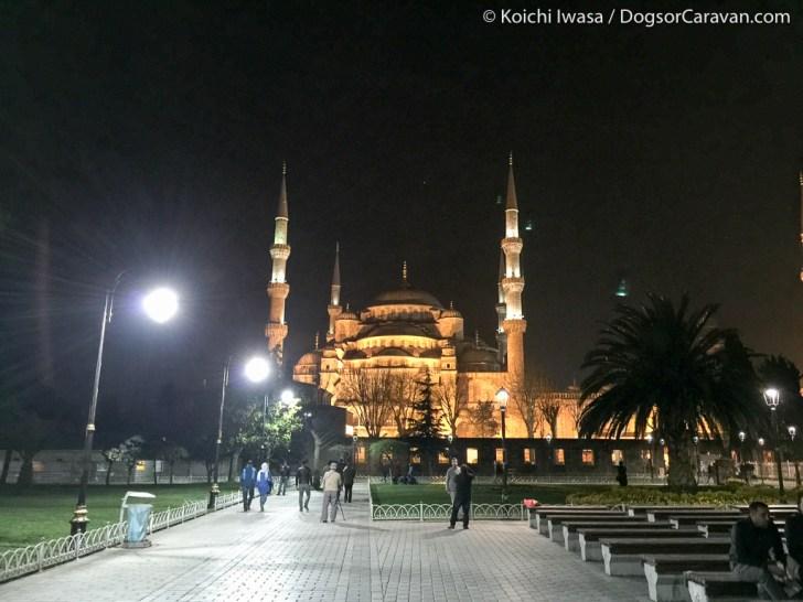 Istanbul Sultanafmeht Night