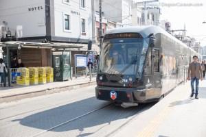 Istanbul Transportation Tram