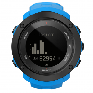 SUUNTO-Ambit3-vertical-SS021842000 VERTICAL Blue Front View_Ascent of this calendar year Metric NEGATIVE
