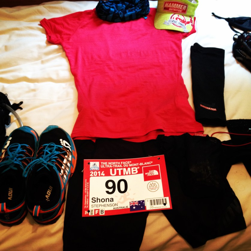 Shona Stephenson Inov-8 Race Kit