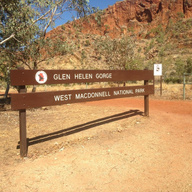 Glen Helen Gorge stage 4 Run Larapinta