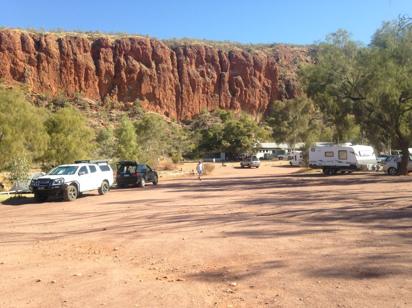 Glen Helen Run Larapinta