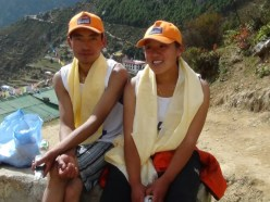 marathon nepal royal penguin namche bazaar 3