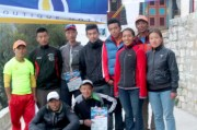 marathon nepal royal penguin namche bazaar group