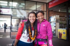 sherpa rai trail running nepal