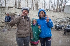 Mustang Trail Race: Rare April snow in Lo