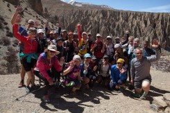 Mustang Trail Race: start at Luri Gompa
