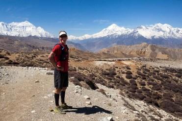Mustang Trail Race: Andy Wellman, enjoying