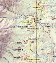 AMT 2017. 4. Geling - Nya La - Ghami La - Dhakmar