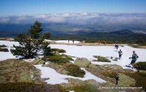 Descent from Peñalara into La Granja.
