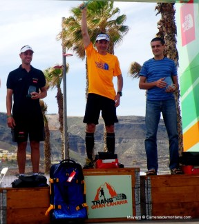 14-transgrancanaria 2013 fotos podio 119k masculino seb chaigneau oier ibarbia yenay durán