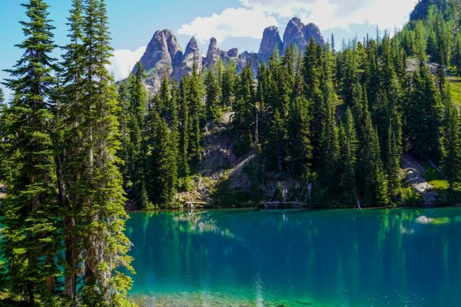 Trail Guide to Blue Lake in the North Cascades