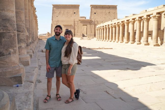 Exploring Philae Temple