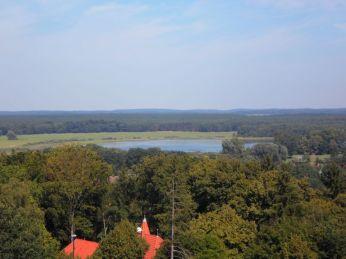 Panoramablick vom Bioramaturm in Joachimsthal