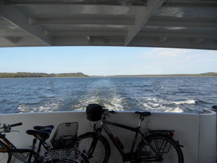 Fahrradmitnahme auf dem Schiff