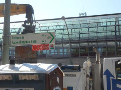Am Spandauer Bahnhof