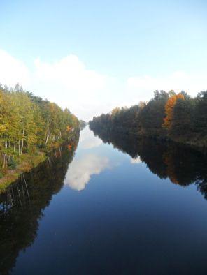 Havelkanal bei Schönwalde im Glien