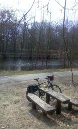 Mei, is des schee heit ! Auf dem Havel-Glien-Radweg am Havelkanal.