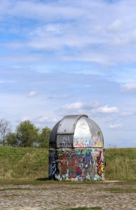 Haube des 61 cm - Teleskops der Bruno H. Bürgel Sternwarte