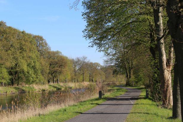 Der Havelradweg am Vosskanal