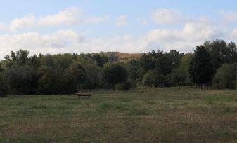 Blick vom Bullengraben zum Hahneberg