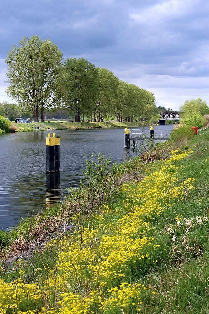 Havelkanal an der Schleuse Schönwalde