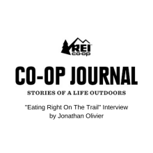 Eating Right On The Trail Interview by Jonathan Olivier