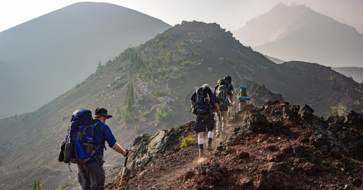 meal planning backpacking trailside fitness