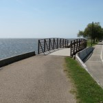 Tammany Trace Trail in Louisiana crosses lake pontchartrain