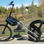 StrideRide outdoor elliptical bike