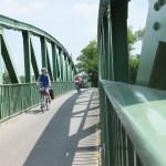 bridge on the veloroute charles le temeraire