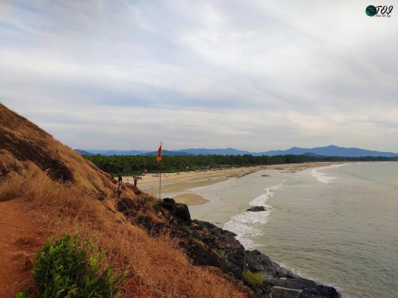 Cliff Walk To Tilmati Beach Karwar
