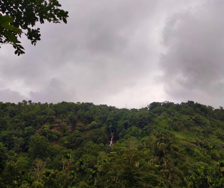 Elaneeru Falls From A Distance
