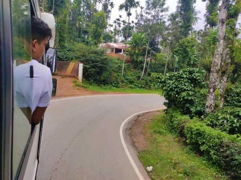 Ghat Road En Route Kudremukh