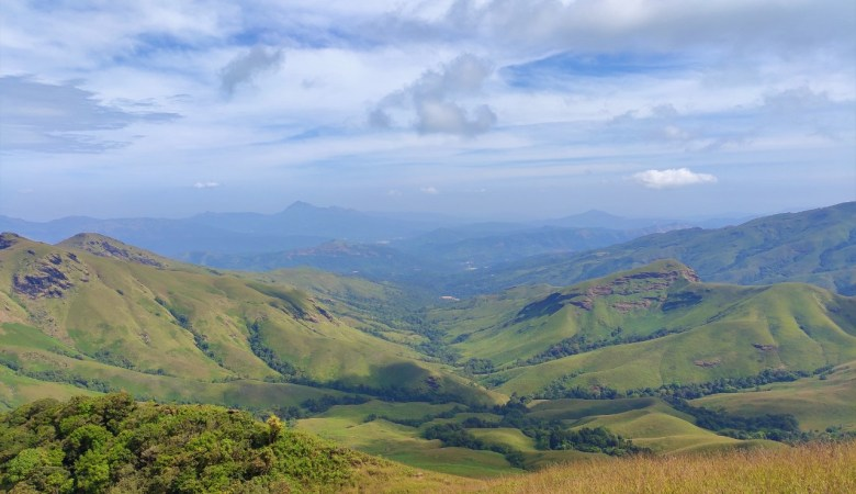 Most Beautiful View In Kudremukh Trek